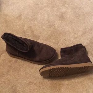 UGG Shoes - Brown UGGS booties size 7